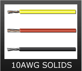 10AWG SOLID COLORS