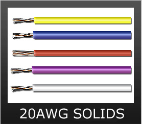 20AWG SOLID COLORS