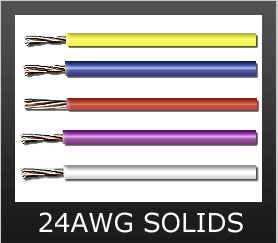 24AWG SOLID COLORS