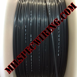 24AWG Wire, BLACK