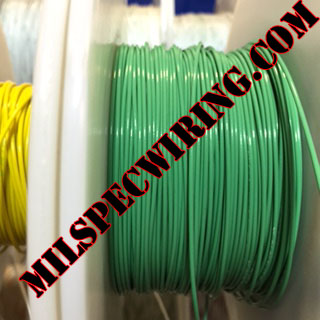 24AWG Wire, GREEN