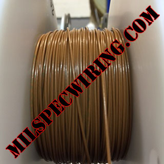 18AWG Wire, BROWN