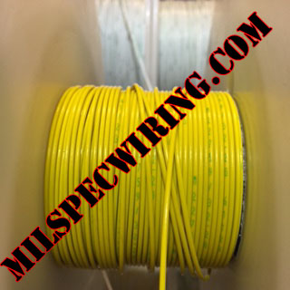 18AWG Wire, YELLOW