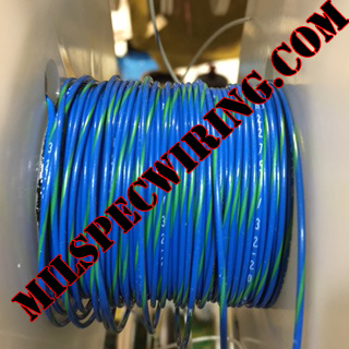 18AWG WIRE - BLUE/GREEN