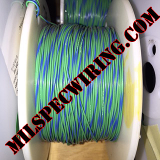 18AWG WIRE - GREEN/BLUE