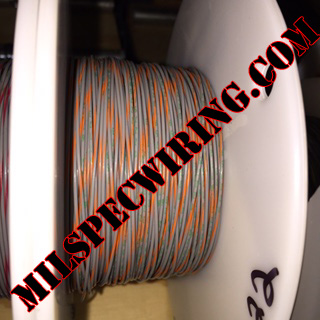 26AWG Wire, GRAY/ORANGE