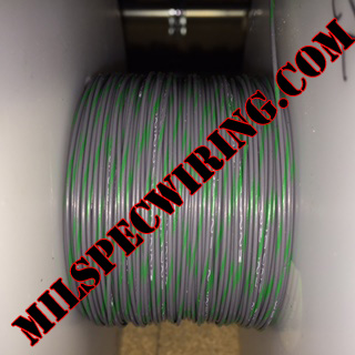 26AWG Wire, GRAY/GREEN