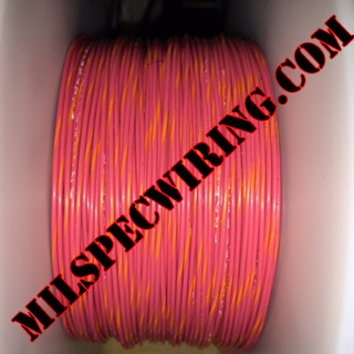 26AWG Wire, RED/ORANGE