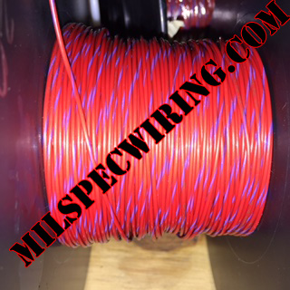 26AWG Wire, RED/VIOLET