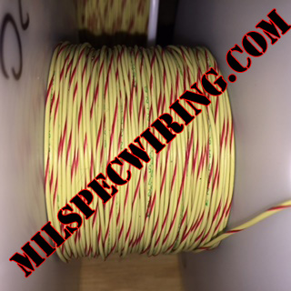 26AWG Wire, YELLOW/RED