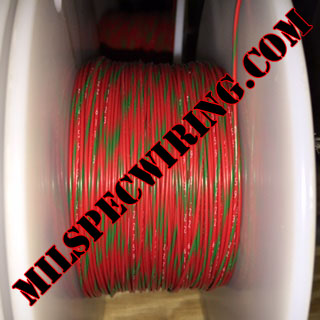26AWG Wire, RED/GREEN