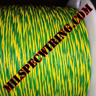 22AWG YELLOW/GREEN 1-TPI