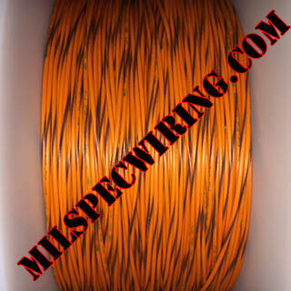 26AWG Wire, ORANGE/BROWN