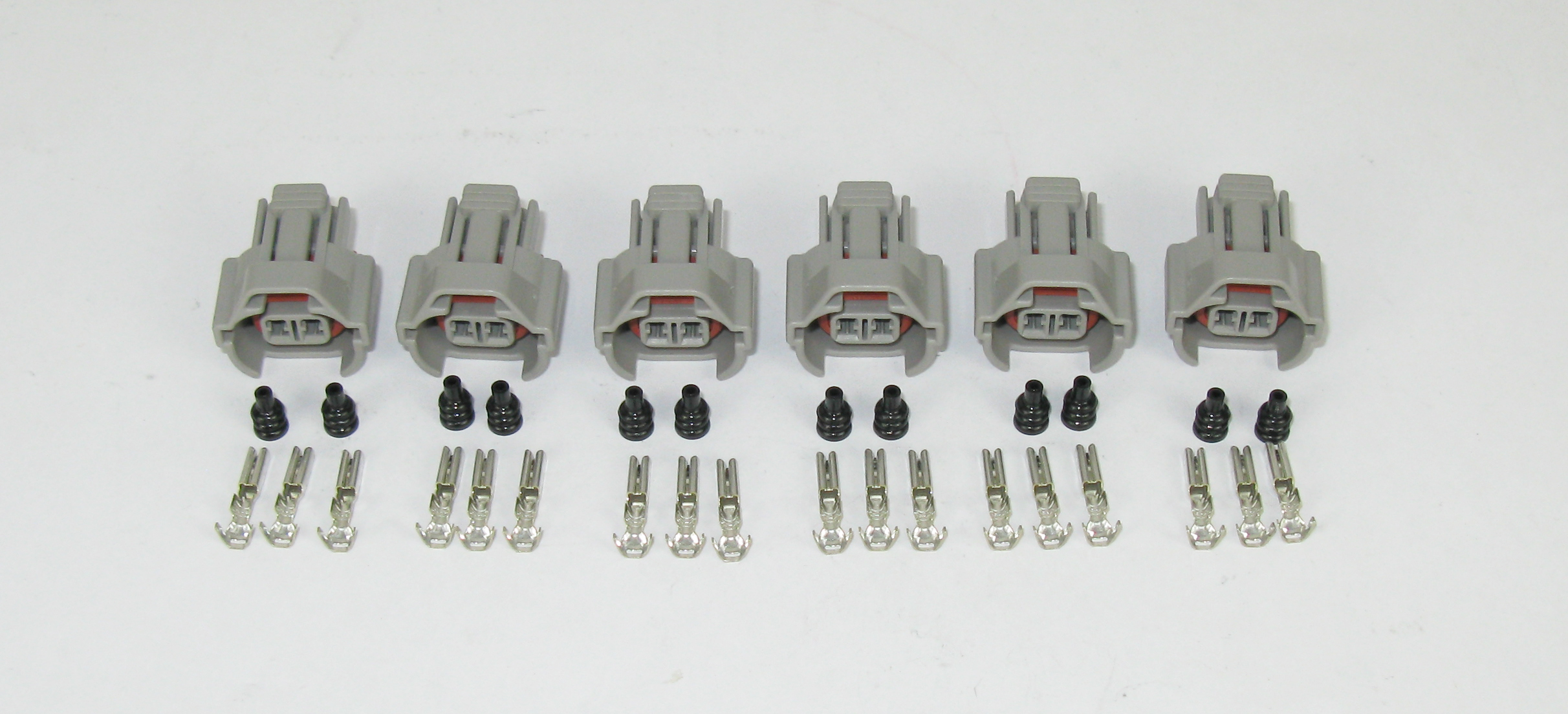 ID2000 / TOYOTA / NISSAN INJECTOR CONNECTOR KIT - 6 CYLINDER