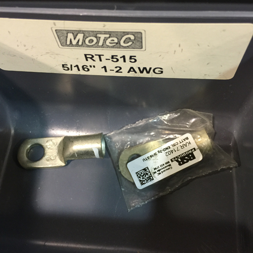 2 AWG RING TERMINALS 5/16