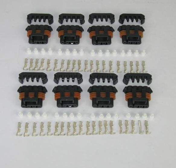 Set of 8 GM Coil Connector Kits For D580 LS1