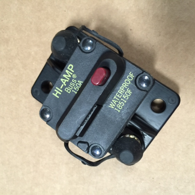 150A MANUAL RESET CIRCUIT BREAKER