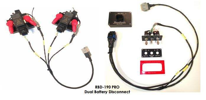 RaceGrade Remote Dual Battery Disconnect
