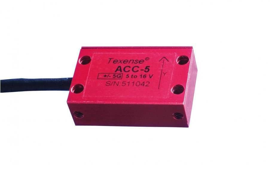 TEXYS Capacitive Accelerometer 1 Axis X or Y - PRO