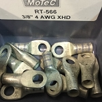 4 AWG RING TERMINALS 3/8