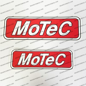 "MoTeC Decal (Large 7.5"")"