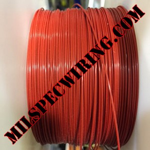 10AWG Wire, Solid Colors, RED