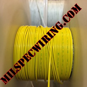 10AWG Wire, Solid Colors, YELLOW
