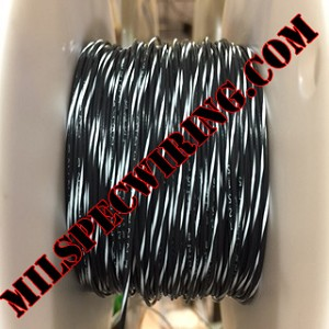 24AWG Wire, BLACK/WHITE