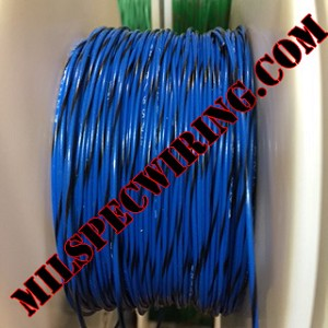 26AWG Wire, BLUE/BLACK