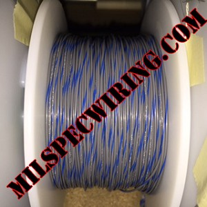 26AWG Wire, GRAY/BLUE