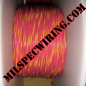 24AWG Wire, RED/YELLOW