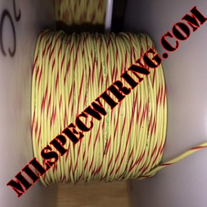 18AWG WIRE - YELLOW/RED