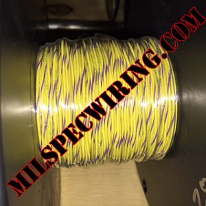 18AWG WIRE - YELLOW/VIOLET