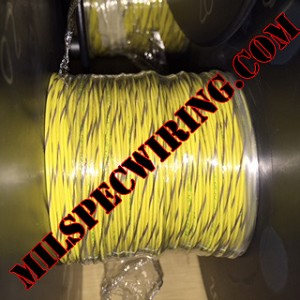 18AWG WIRE - YELLOW/GRAY