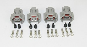 ID2000 / TOYOTA / NISSAN INJECTOR CONNECTOR KIT - 4 CYLINDER