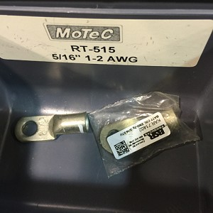 "2 AWG RING TERMINALS 5/16"" EYE"