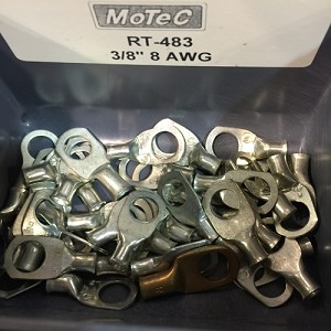8 AWG RING TERMINALS 3/8""