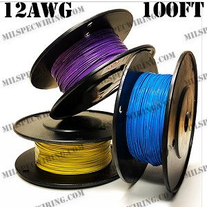 12AWG YELLOW 100FT ROLL