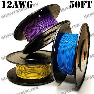 12AWG BROWN 50FT Roll